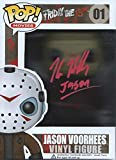 Friday the 13th Signed Autographed (Red Version) by Kane Hodder Jason Voorhees Funko Pop Vinyl Figure