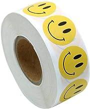 Smiley Sticker Happy Face Label Ronde punten DIY papierpasta 500 stuks