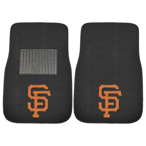 FANMATS 20576 MLB - San Francisco Giants Embroidered Car Mat, Team Color, 17'x25.5'