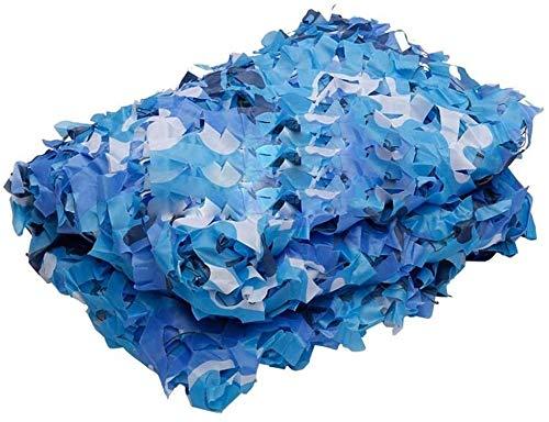 HPJDJXB Toldos Malla Resistente a los Rayos UV Red De Camuflaje Ocean Blue Camouflage Net para Niños Que Acampan Protección Solar | Red De Camuflaje De Caza De Tela Oxford (Size : 3x5m(9.8 * 16.4ft))