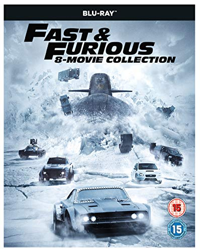 The fast & Furious 8-Film Collection (1-8 Blu-Ray) [2017] [Region Free]