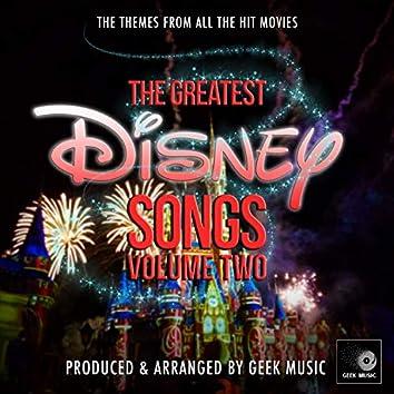 The Greatest Disney Songs, Vol. 2