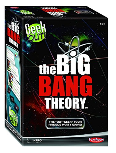 Playroom Entertainment Geek Out! The Big BANG Theory Edition