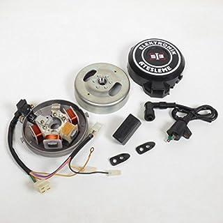 Encendido electrónico Mobylette Peugeot 103Rcx pequeño cono estátor Rotor bobinas