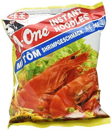A-ONE Instantnudeln, Shrimps, 30er Pack (30 x 85 g)