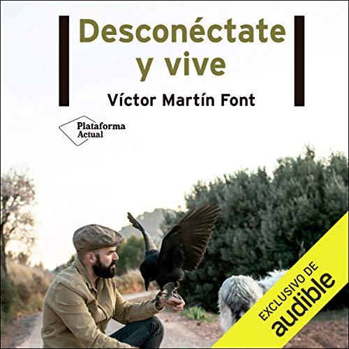Diseño de la portada del título Desconectate y vive
