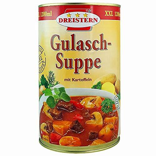 Dreistern Gulasch Suppe 1200g