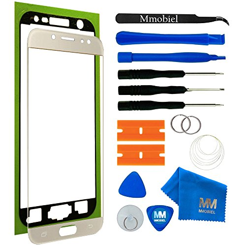 MMOBIEL Kit Reemplazo de Pantalla Táctil Compatible con Samsung Galaxy J7 Pro J730 (Oro) 5.5Pulg con Herramientas