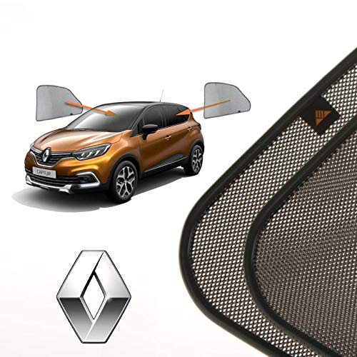 Cortinillas Parasoles Coche Laterales Traseras a Medida para Renault Captur (1) (2012-presente) SUV 5 Puertas