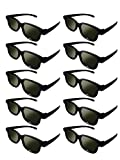Lot of 10x RealD Technology 3D Polarized Glasses for TV/Movies/Cinema/HD