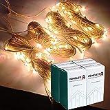 Homelett Rice Light for Home Decoration Set of 4 Fairy Light (4-Pack, Yellow)