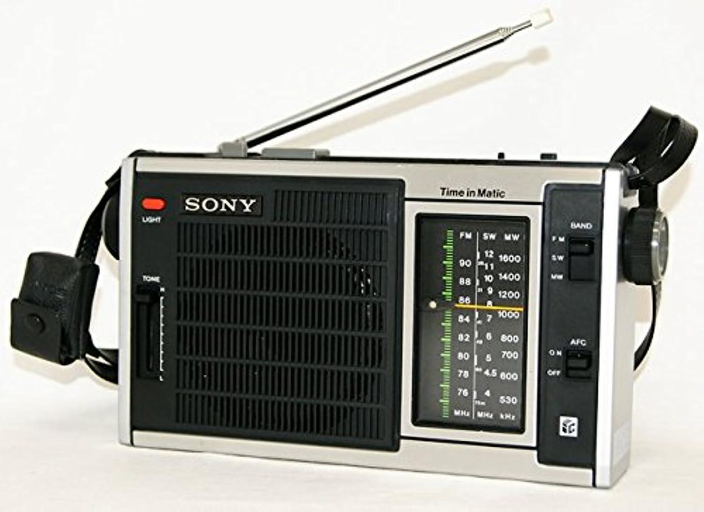 ラボモバイル丈夫SONY ソニー ICF-5350 3バンドラジオ FM/MW/SW
