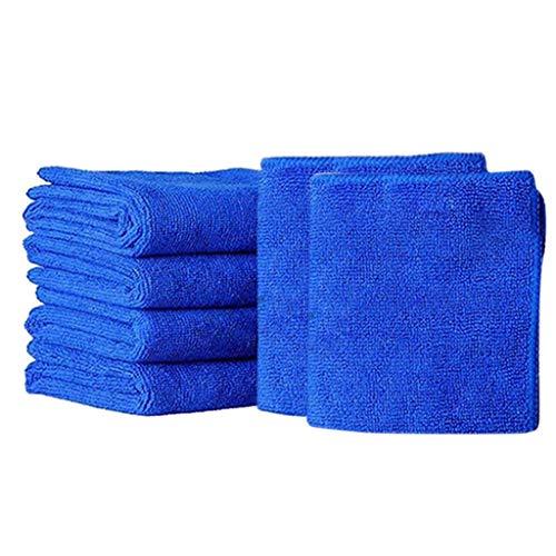 Yeefant 6Pcs New Cloths Cleaning Duster Microfiber Car Wash Towel Auto Care Detailing Car Clean Towels Microfiber Super Absorbent Microfiber Cleaning Cloth Lint Free Professional Microfiber Towels