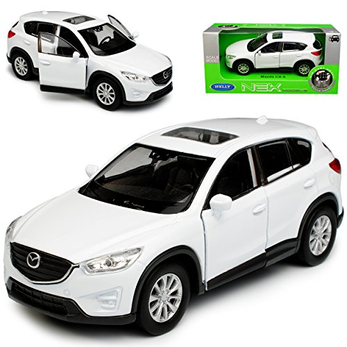 Welly Mazda CX-5 KE SUV Weiss 1. Generation 2011-2017 ca 1/43 1/36-1/46 Modell Auto