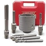 SCHWABENBACH® Hartmetall Bohrkrone 68mm Set mit...