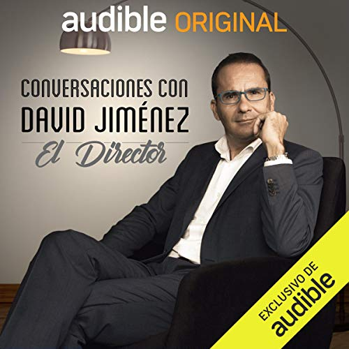 Diseño de la portada del título Conversaciones con David Jiménez