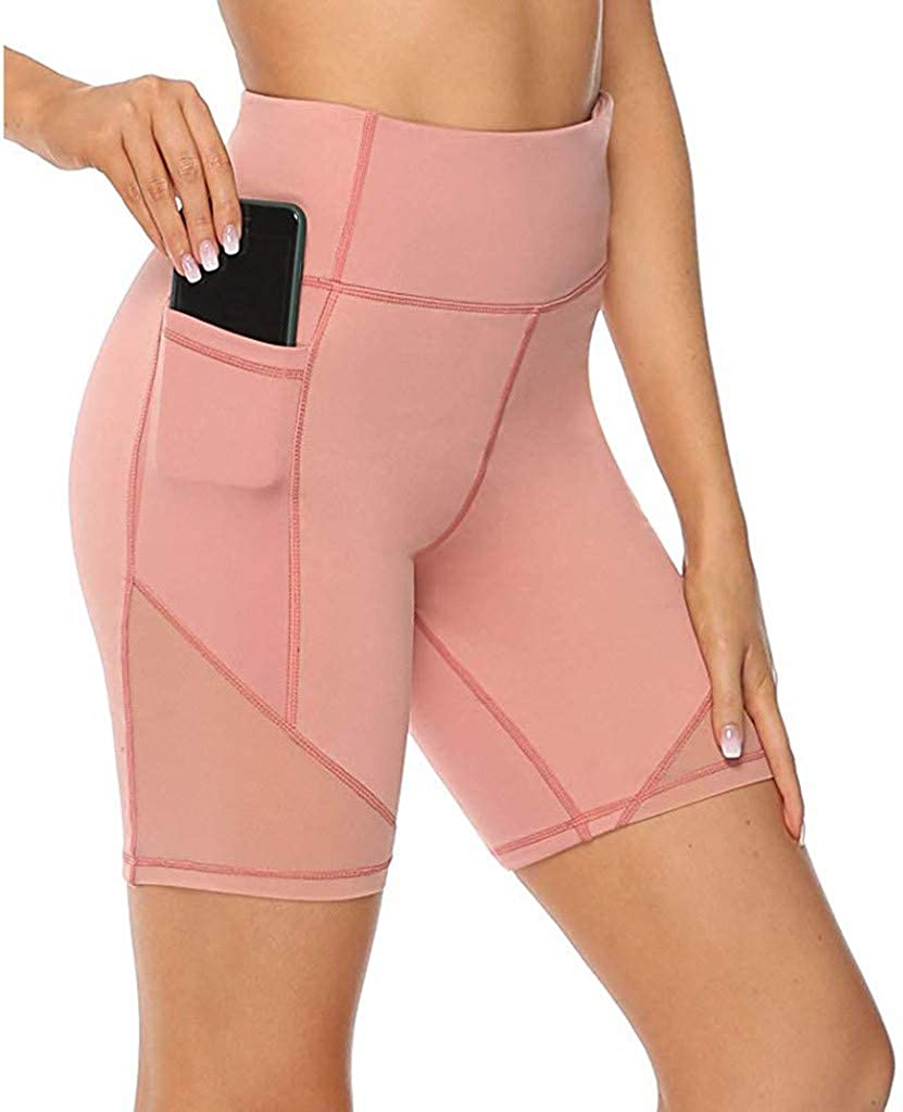 35% OFF Max 46% OFF Handyulong Womens High Waisted Shorts Athletic S Workout Running
