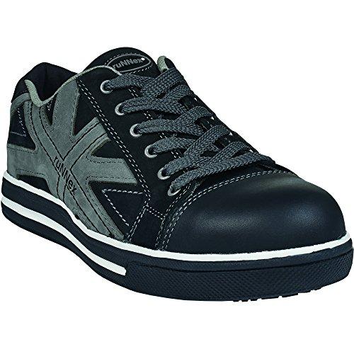 ruNNex Sicherheitshochschuhe S3 SportStar Halbstiefel in Sneaker-Optik Größe 40, schwarz, 5342