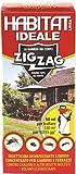Zig Zag, Habitat, Insetticida concentrato, Flacone di plastica con misurino dosatore, per interni, esterni ed aree verdi, formato 250 ml