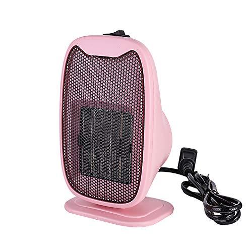 ZLofe Mini Calentador de Ventilador, Portátil Calefactor Eléctrico 800W, Protección sobrecalentamiento, termostato,...