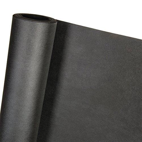 3,2m² 150g/m² Unkrautvlies in 1,6m Breite x 2m Unkrautschutzvlies als Rindenmulch Kiesunterlage (Meterware)