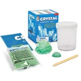 TINGTING La Ciencia de los Cristales, Brilla en la Oscuridad Ciencia Experimento Set DIY Deseando Cristal Plantación Crecimiento Inteligencia Educación,Rojo