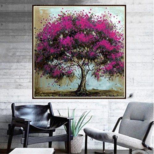 Pandaie To America!!! Red Tree 5D Diamond Painting Full Drill Kits for Adults Embroidery Cross Stitch(all 5% off, three 10% off)