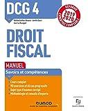 DCG 4 Droit fiscal - Manuel - Réforme 2019/2020 - Réforme Expertise comptable 2019-2020 (2019-2020)