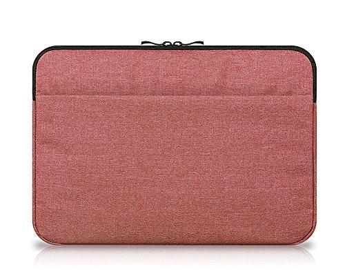 11.6 Zoll Hülle Sleeve Tasche für Tablet mit Tastatur für z.B. Lenovo Miix 510 Ideapad Yoga 300 Weinrot