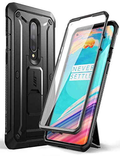 SUPCASE Unicorn Beetle Pro Series Case Designed for OnePlus 8 2020 Release [Not Compatible with Verizon Version], Full-Body Rugged Holster Case with Built-in Screen Protector (Black)