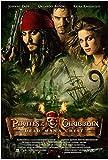 NC83 HAOLL Piratas del Caribe: El Cofre del Hombre Muerto (2006) Póster de película clásica Impresión en Lienzo Pintura Arte de la Pared para la decoración del Dormitorio de la Sala de Estar 50x70cm