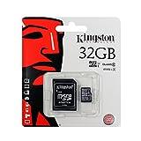 LG K4 Dual (2017) Tarjeta de Memoria microSDHC 32GB, Clase 10, Full HD, Adaptador SD, Velocidad r pida para Lectura y Escritura