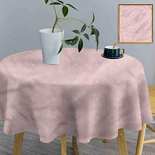 ThinkingPower Round Table Cloth Celtic, Old Fashion Celtic Well Made Exquisite tablecloths for High Top Table, Bistro Table, Other Tables (Diameter 54 Inch)