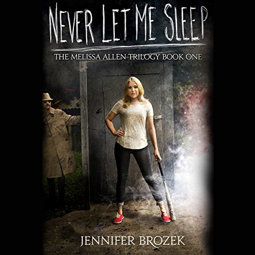 Never Let Me Sleep audiobook cover art