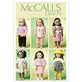 MC Call's 6526 - Patrones de Costura para Ropa de muñeca (hasta 45 cm)