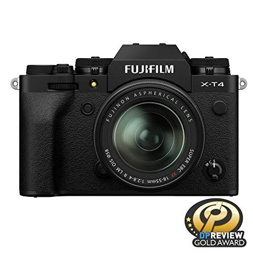 Fujfilm X-T4 Mirrorless Digital Camera XF18-55mm Lens Kit - Black