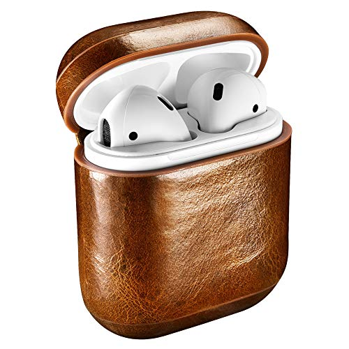 Icarercase Leather Case for AirPods