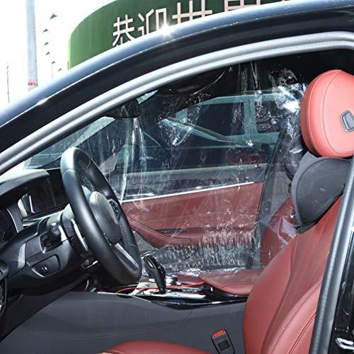 Alician Taxi Trennfolie Auto Isolierfolie Auto Fahrer Schutz Isolierung Selbstklebende Schutzabdeckung