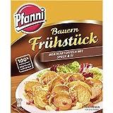 Pfanni Bauern Frühstück Kartoffelfertiggericht Bratkartoffeln mit Speck & Ei 100% deutsche Kartoffeln, 1 x 400 g