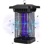 BACKTURE Elektrischer Insektenvernichter, 18W Insektenkiller Moskito Killer Mückenfalle mit UV-Licht Fliegenkiller Leistungsstarke 4000V