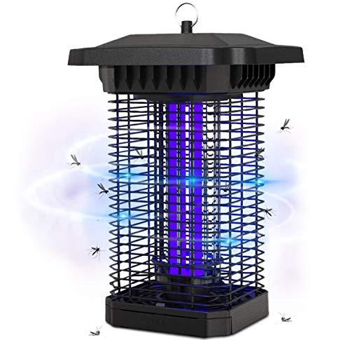 BACKTURE Elektrischer Insektenvernichter, 18W Insektenkiller Moskito Killer Mückenfalle mit UV-Licht Fliegenkiller Leistungsstarke 4000V Grid Lampen für Garten, Wohn und Gewerbezwecke