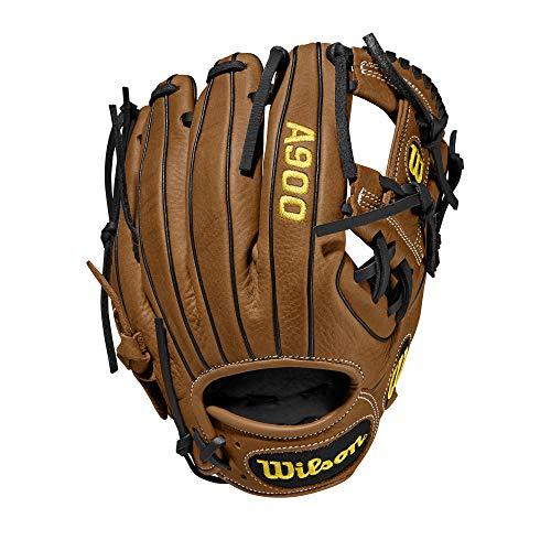 WILSON Unisexs 2020 A900 115 Baseball Glove British TanBlack