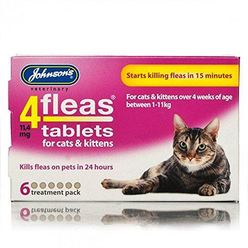 Johnsons 4fleas Tablets para gatos y...