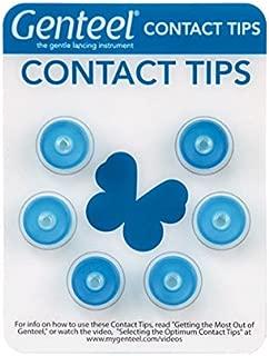 Genteel Replacement Contact Tips (6 Pack) (Blue)