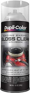 Dupli-Color DE1636 Ceramic Clear Engine Paint - 12 oz.