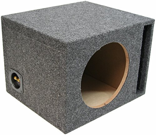 "Car Audio Single 15"" Vented Subwoofer Stereo Sub Box Ported Enclosure 5/8"" MDF"