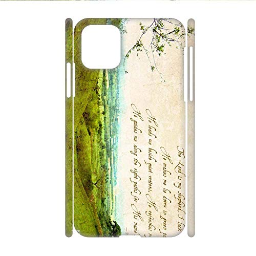 Generic Printing Bible Quotes for Girl Hard Plastics Phone Case Funny Compatible con iPhone 11