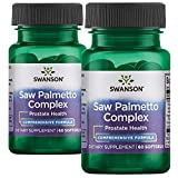 Swanson Saw Palmetto Combo 120 Sgels 2 Bottles