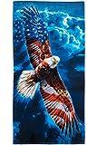 American Eagle Super Soft Plush Cotton Beach Bath Pool Towel
