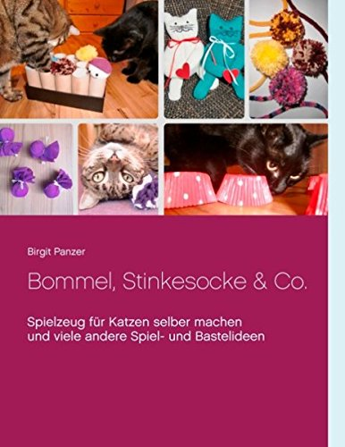Bommel, Stinkesocke & Co.: Spielzeug für Katzen selber machen und viele andere Spiel- und Bastelideen